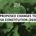 Proposed Changes to the GSA Constitution (2020)