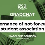GradChat – Governance in a not-for-profit student association