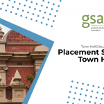 Placement Students Town Hall Discussion