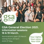 Announcement of GSA General Election 2021