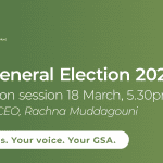 GSA General Election information session recording