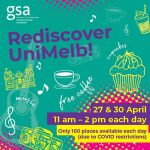 Rediscover UniMelb this Tuesday 27 and Friday 30 April