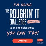We're supporting the Roughin' It Challenge – join us!