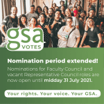 Nomination period extended