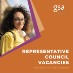 GSA Representative Council – casual vacancy (Health and Welfare Officer and Indigenous Officer)