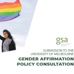 Submission to the Gender Affirmation Policy – Statement from the LGBTIQ Officer